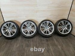 06-13 OEM BMW E92 Front Rear Sport Wheels Spider Spoke Style R18 SET