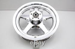 06 Harley Softail Fat Boy CHROME Front Rear 16x3.00 Wheel Rim Set 5-SPOKE 16