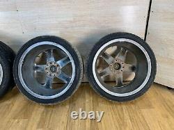 08-13 OEM BMW E82 E88 Front Rear Rim Wheel R18 7.5J 8.5J Star Spoke 264 SET