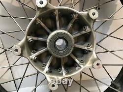 08 BMW R1200GS Adventure Wheels Set Spoked Black Front Rear 36318553003