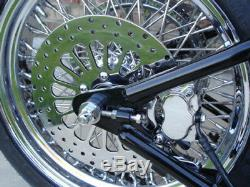 11.5 SUPER SPOKE FRONT & REAR BRAKE ROTOR PAIR WithFREE BOLTS FOR HARLEY 2000 & UP