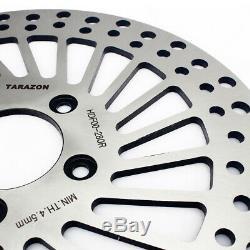 11.5 Spoke Brake Disc Rotors + Pads Electra Glide Classic / Ultra Classic 00-07