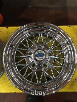 14 Cragar 30 Spoke Wire Wheels