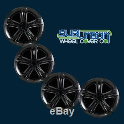 15-18 Dodge Charger R/T # 2252G-B 20 5 Spoke Gloss Black Wheel Skins NEW SET/4