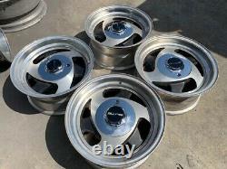15 Vintage Wheels Rims Alloy Mag American Racing 15x8 Tri 3 Spoke 15x8 Deep
