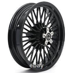 16X3.5 36 Fat Spoke Wheels Rims Set For Harley Sportster 48 XL1200X 2010-2020