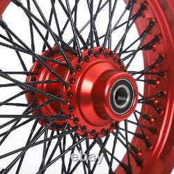 16 Front Rear Wheels Single Disc Spoke for Softail FXST FXSTD for Touring 84-07