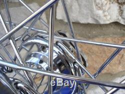 16 X 3 40 Spoke Chrome Wheel Harley Fl Shovelhead Front Rear 1973-83 Fx Rear