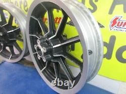 16 X 3 Front & Rear 10 Spoke Mag Wheels Harley Davidson Flt Touring 1987-1999