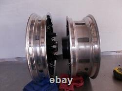 16 X 5 Rear & 17 X 3 Front 10 Spoke Mag Wheels Harley Davidson 2009 Up