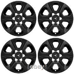 17 6 Spoke Gloss Black Wheel Skins for 2014-2019 Toyota 4Runner SR/SR5