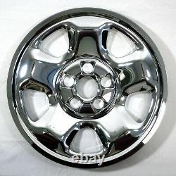 17 Wheel Covers Rim Skins Hub Caps CHROME for 2006-15 Honda RIDGELINE PILOT
