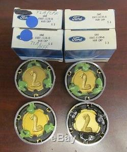 1969-70 NOS Shelby 5-Spoke Wheel Center Caps