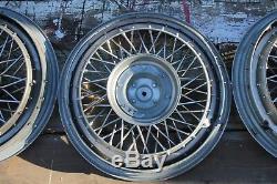 1981 1987 Oldsmobile OEM METAL 14 inch Wire spoke Hubcaps wheel covers