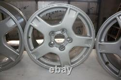 1997 1998 1999 C5 Corvette OEM Silver 5 Spoke Argent Wagon Wheels Set of 4
