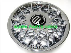 1998-2002 Mercury Grand Marquis 20 Spoke Chrome Wheel Hub Center Cover OEM NEW