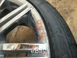 19 LA Light Allow Rim Wheel M Double Spoke 172 Chrome Set OEM E60 E61 550i 535i