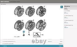 (1)FORD OEM 06-19 Explorer Edge Flex Taurus WheelCenter Cap Hub Cover 6F2Z1130B