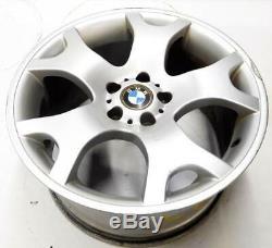 2001-2006 BMW X5 (E53) 19x9 FRONT / 19x10 REAR 5 SPOKE ALUMINUM WHEEL RIM SET-4