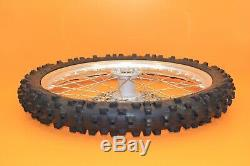 2003 03-18 WR450F WR250F Excel Front Rear Wheel Set Hub Rim Spokes Tire Rotor