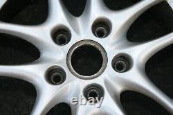 2003-2004 Porsche OEM 17 Boxster 10 Spoke Front & Rear Wheels 17x7 / 17x8.5