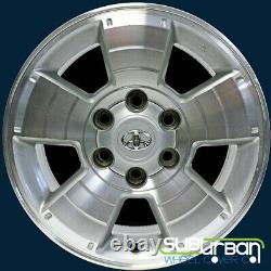 2003-2009 Toyota 4Runner # 69429 17x7.5 5 Spoke OEM Wheel Center Caps USED SET/4