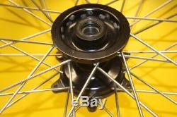 2004 Yamaha Yz250 Yz 250 Warp 9 Front Rear Wheels Rim Tire Hub Spokes Set
