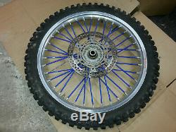 2005 02-19 YZ250 YZ125 Excel Front Rear Wheel Set Complete Hub Rim Spokes Rotor
