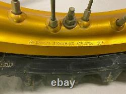 2005 Yamaha YZ450f YZ GOLD Excel Set Front Rear Wheels Rim Tire Hub Spokes Set