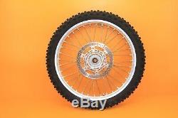 2006 03-08 YZ250F YZ450F Excel Factory Wheel Set Front Rear Hub Rim Spokes Tires
