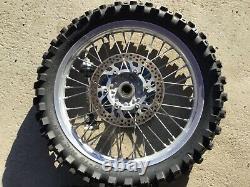 2006 YZ250F YZ 450F 125 250 EXCEL Wheels Rims Wheel Rim Hub Disc Spokes 01-13