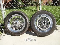 2007 Harley-davidson Softail Deluxe Front & Rear Spoke Wheels Tire 16