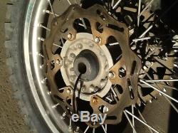 2007 YAMAHA YZ450F FRONT & REAR Excel WHEEL RIM HUB Spokes Rotor YZ250F YZ250
