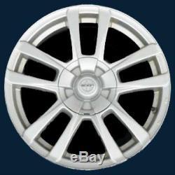 2008-2015 Scion xB # 69550 16 10 Spoke Wheel SILVER Center Caps BRAND NEW SET/4
