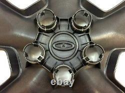 2011-2019 Ford Explorer logo 5 Spoke 17 Wheel Cover Silver Hub Cap new OEM