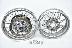 2013 -2020 BMW R1200GS K50 K1 front + rear Spoke Wheel Rims Adventure rotors