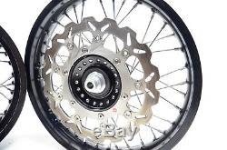 2013 Triumph Thruxton 900 Canyon Racing TT Spoked Alloy Wheels Set Front Rear J1