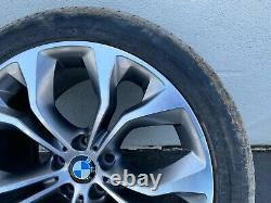 2014-2018 Bmw X5 X6 20' Inch Wheel Rim With Tire 5 Y Spoke 6853980 Oem F15 F16