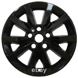 2014-2020 Dodge Durango SXT # 8249G-B 18 10 Spoke GLOSS BLACK Wheel Skins SET/4