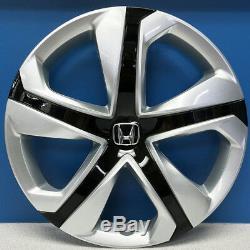 2016-2018 Honda Civic LX # 55099 16 5 Spoke Hubcaps # 44733-TBA-A13 NEW SET/4