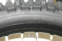 2016 Suzuki RMZ450 RMZ 450 Black Front and Rear Wheel Set w Rims Spokes (OEM)