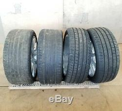 2017 Mercedes-benz Slc300 Front Rear 17 10-spoke Wheel Rim Pirelli Tire Set Oem