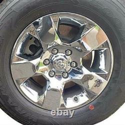 2019-2021 Ram 1500 Big Horn Model # IMP435X 18 5 Spoke CHROME Wheel Skins SET/4