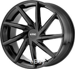 20 Black Wheels Rims Kmc Asanti Lexani Forgiato Dub Directional Twisted