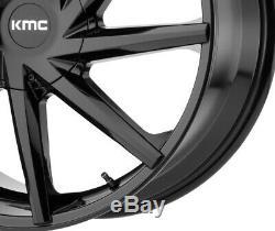 20 Black Wheels Rims Kmc Lexani Giovanna Accord Camry