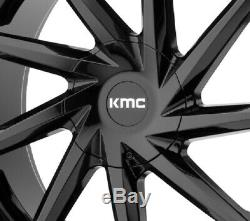 20 Black Wheels Rims Kmc Lexani Giovanna Accord Camry