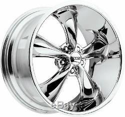 20 Chrome Wheels Rims Foose American Torq Cragar