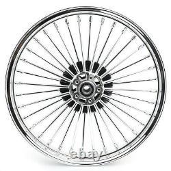 21 18 Front Rear Wheels Fat Spoke for Dyna Wide Glide Electra Glide Road King