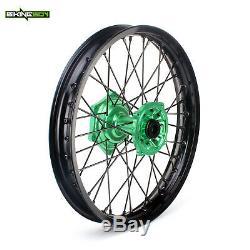 21 19 Kawasaki MX Wheels Rims Hubs Spokes KX250F KX450F 06-18 KX125 KX250 06-13