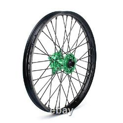 21 19 MX Wheels Rims Hubs Spokes For Kawasaki KX250F KX450F 06-18 KX 125 250